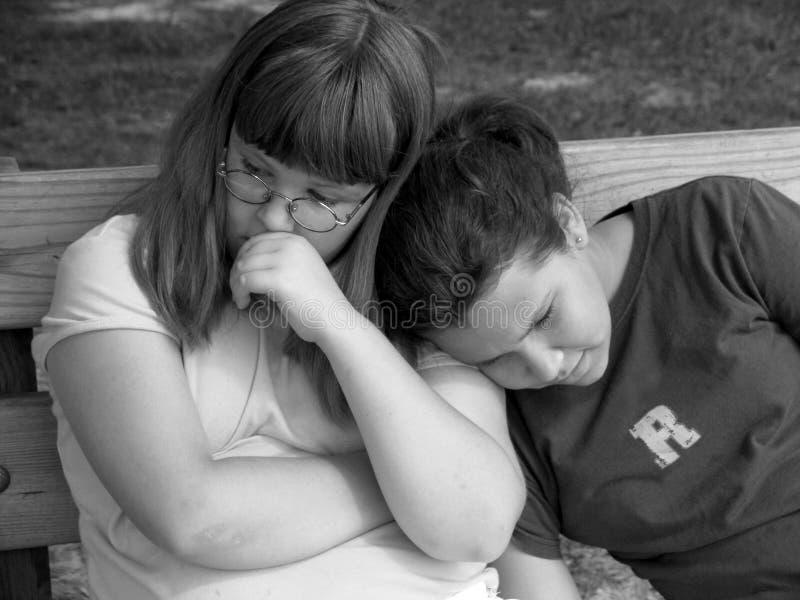 Download Poważne dziewczyny zdjęcie stock. Obraz złożonej z wyznania - 28440