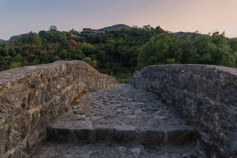 Powabna natura Montenegro w Sierpień zdjęcie stock