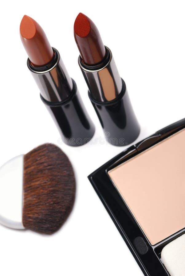 Download Powder box stock photo. Image of make, beautiful, lipstick - 7397110