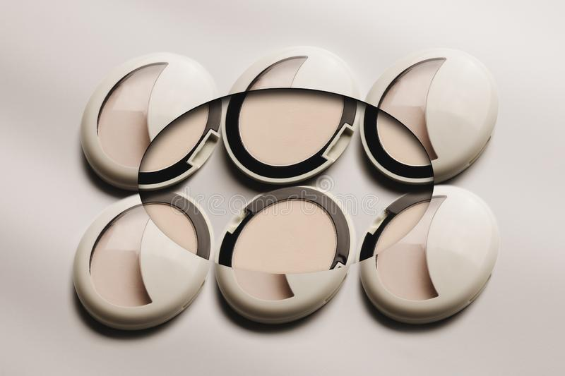 Powder design stock image