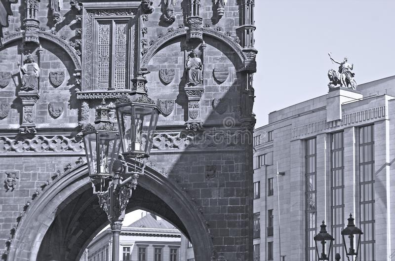 Download Powder Gate, Prague stock photo. Image of czech, exterior - 13073910