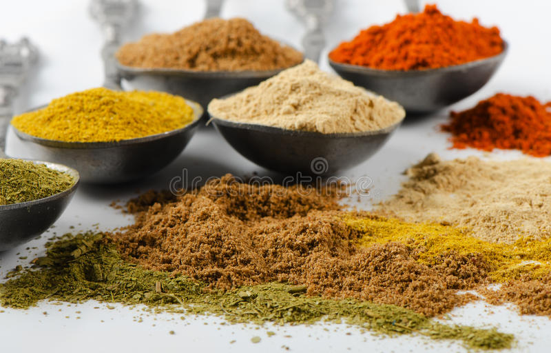 Download Powder spices stock photo. Image of different, cook, flavor - 27333534