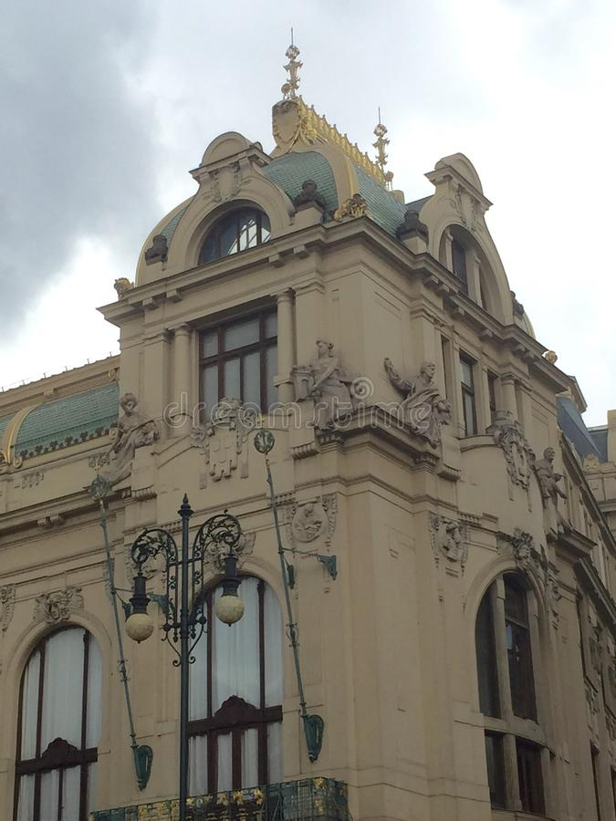 Powder Tower in Prague royalty free stock images