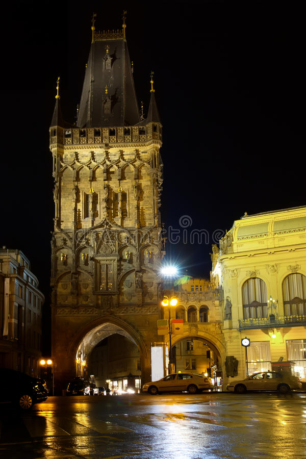 Powder Tower stock photography