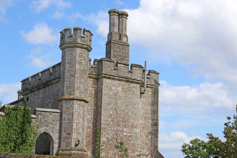 Download Powderhamkasteel, Devon stock foto. Afbeelding bestaande uit engeland - 114227948