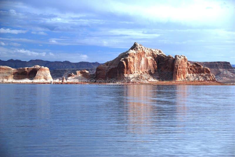 powell озера стоковое фото rf