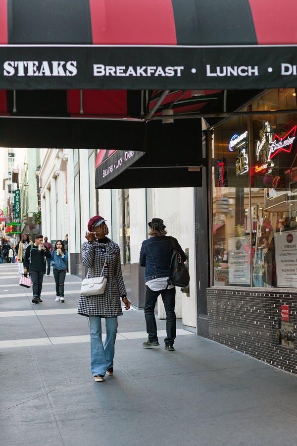 Powell gata, San Francisco, Förenta staterna fotografering för bildbyråer