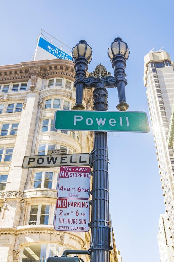 Powell Street San Francisco royalty-vrije stock foto