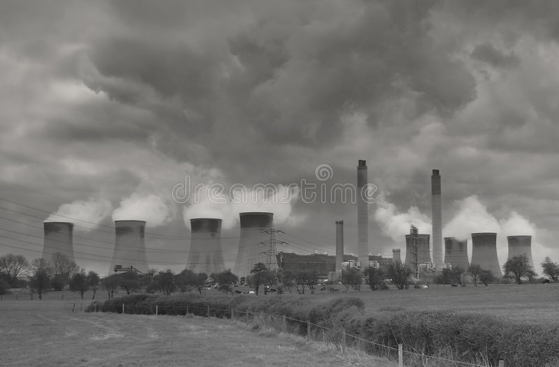 Download Power stock photo. Image of power, station, generation, clouds - 5218