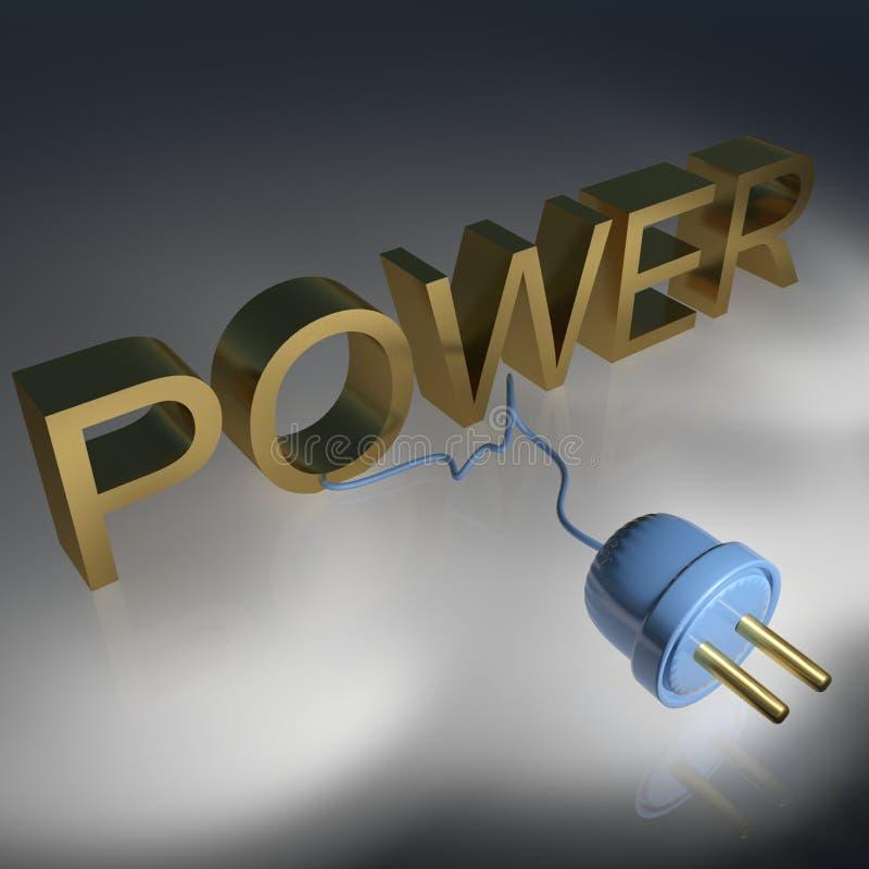 Download Power stock illustration. Illustration of circular, cord - 17789696