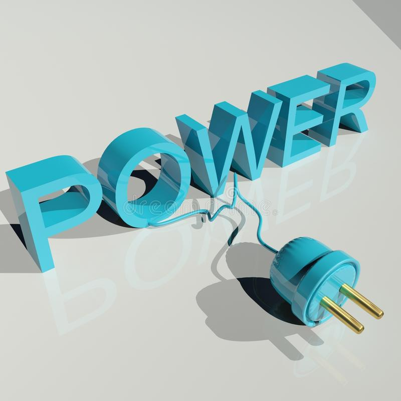 Power royalty free stock images
