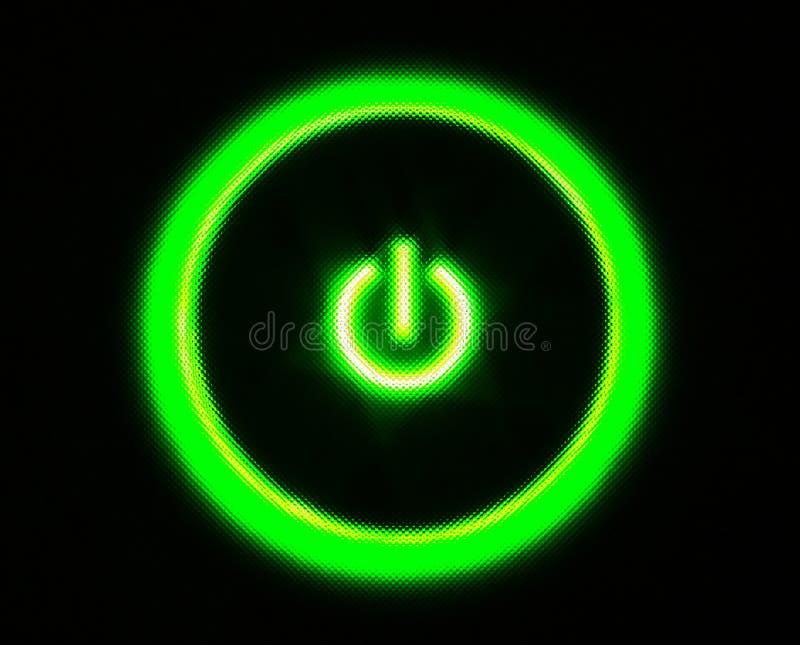 Power on stock image