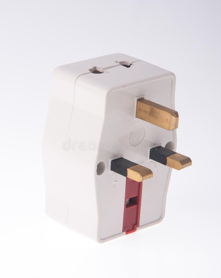 Power Adaptor on background. Power Adaptor on the background royalty free stock photo