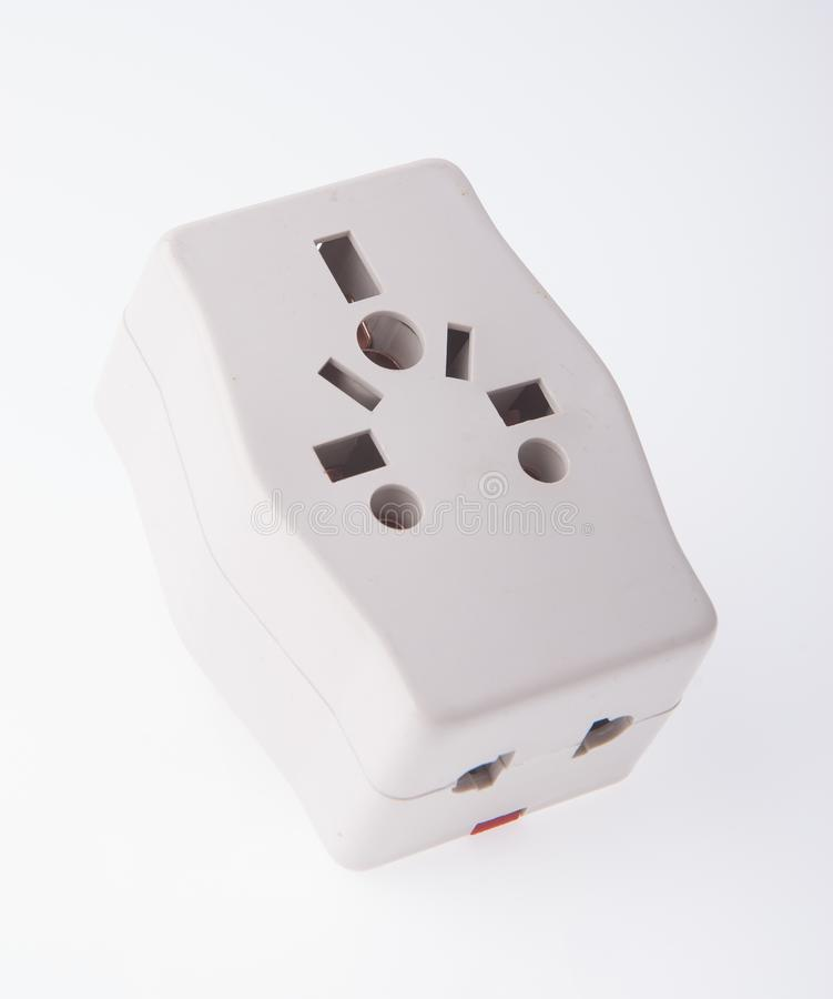 Power Adaptor on background. Power Adaptor on the background royalty free stock image