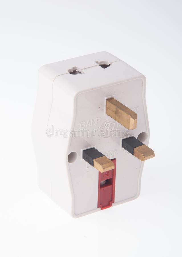 Power Adaptor on background. Power Adaptor on the background stock images