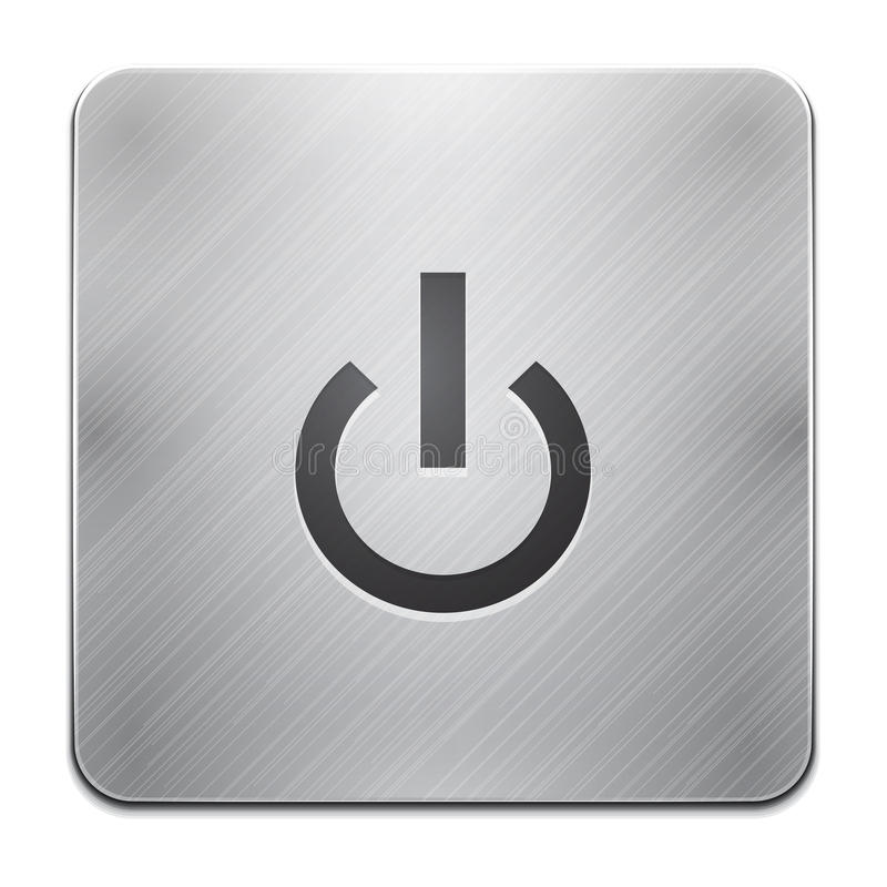 Power App Icon Royalty Free Stock Photography