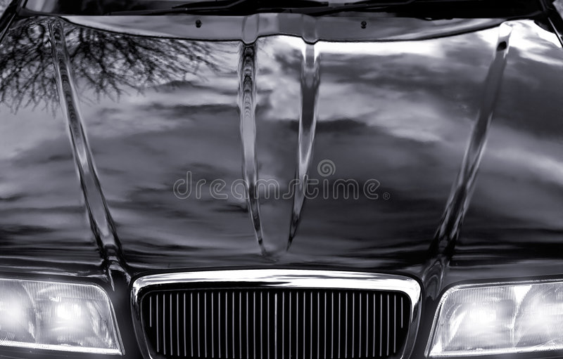 Download Power Auto stock image. Image of hood, reflection, gleam - 973601