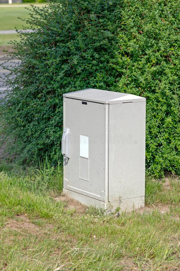 Free Power Box Park Stock Images - 220267274