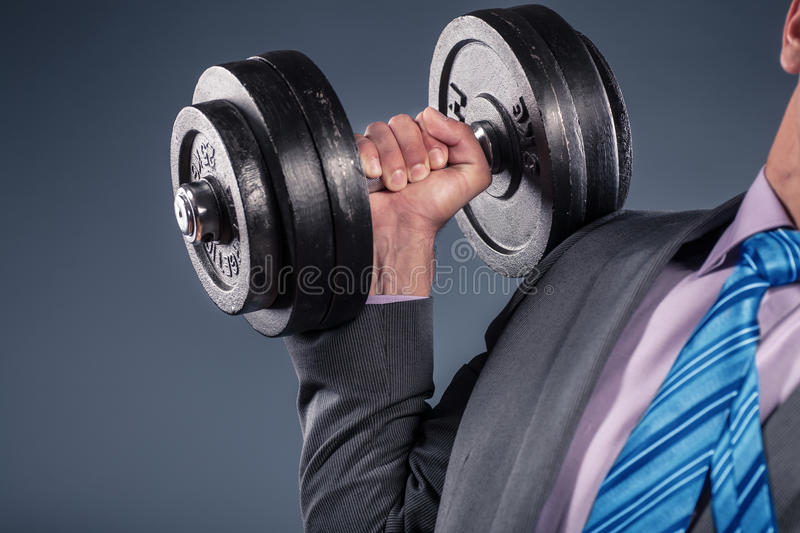 Power in the business. Symbolic picture of the power in the business stock images
