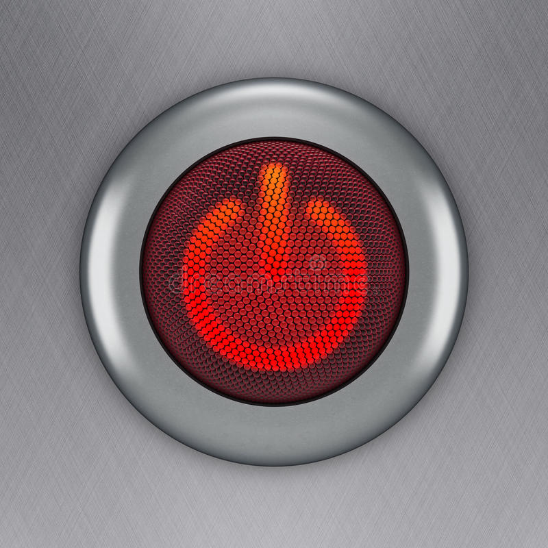 Power button stock illustration