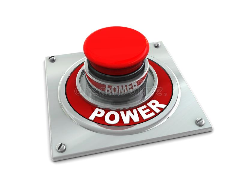 Power button stock image