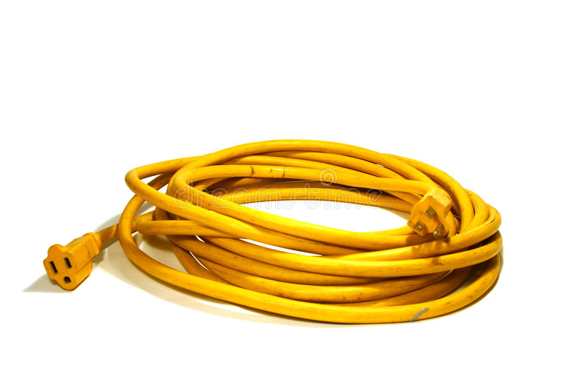 Power Cord stock photo