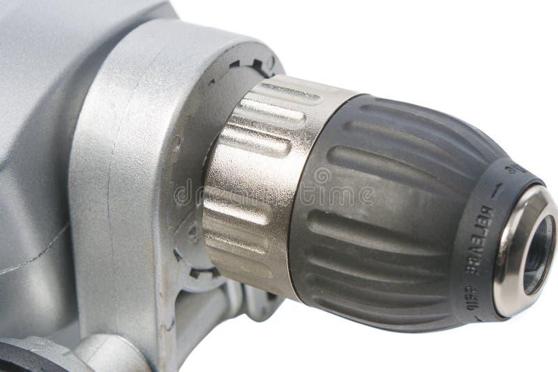 Closeup of power drill royalty free stock photos