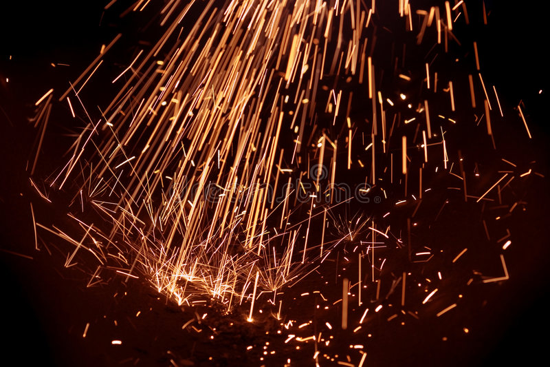 Download Power Electric Spark Royalty Free Stock Image - Image: 1424796