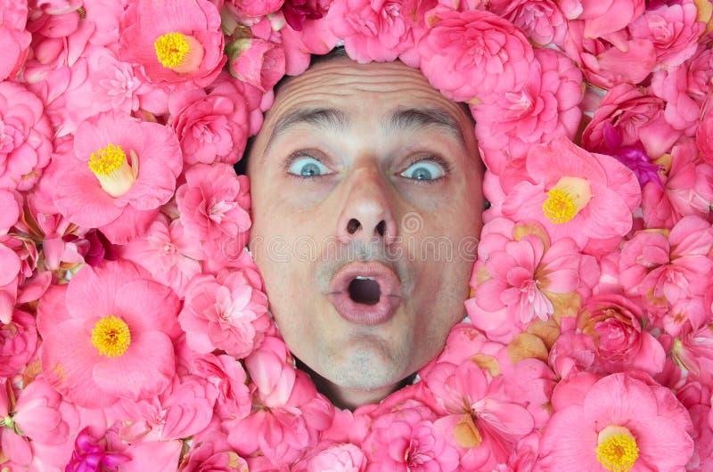 Download Power flower man stock image. Image of caucasian, spring - 30543615