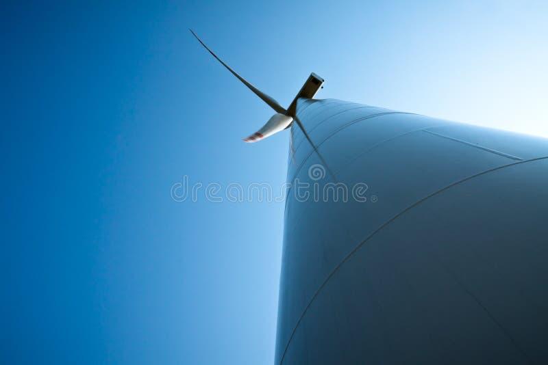 Power generating wind turbines royalty free stock image