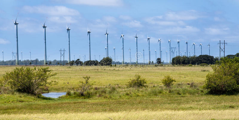 Download Power Generating Wind Turbines Stock Photo - Image of ecological, ecology: 25152690