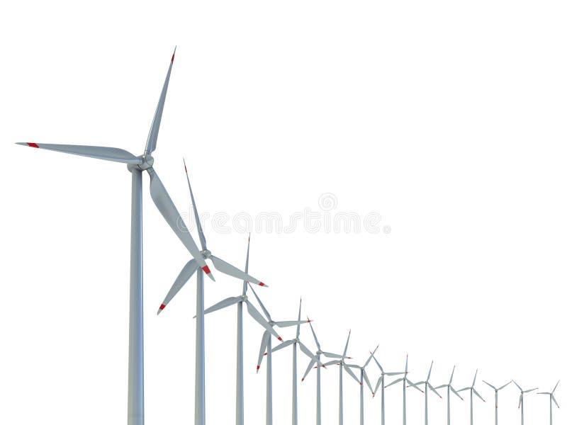 Download Power Generation Wind Turbines Stock Illustration - Image: 23119101