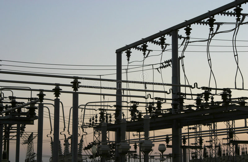 Download Power Grid #3 stock image. Image of electric, tower, generating - 356689