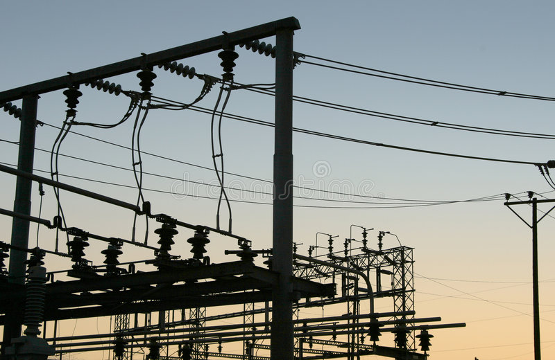 Download Power Grid #5 stock photo. Image of generating, wire, voltage - 473704