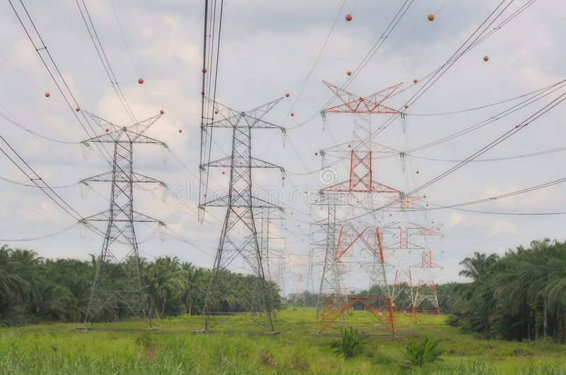 Power Grid Series 2 royalty free stock images