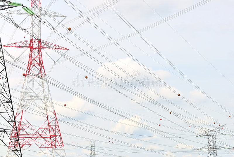 Power Grid Series 6 royalty free stock images
