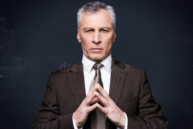 Power is in his hands. royalty free stock photos