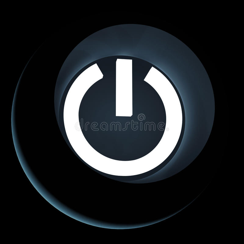 Download Power Icon Royalty Free Stock Photo - Image: 23739095
