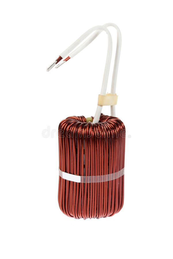 Download Power Inductor stock image. Image of copper, electronics - 24808347