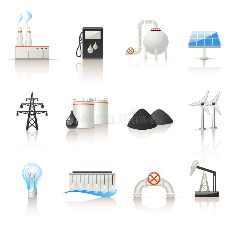 Free Power Industry Icon Set Stock Photos - 13130763