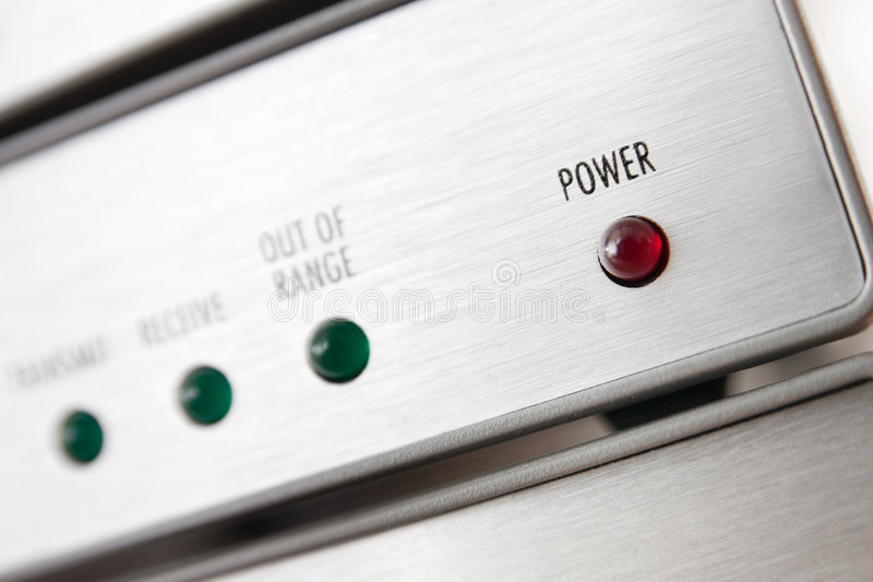 Power LED royalty free stock photography
