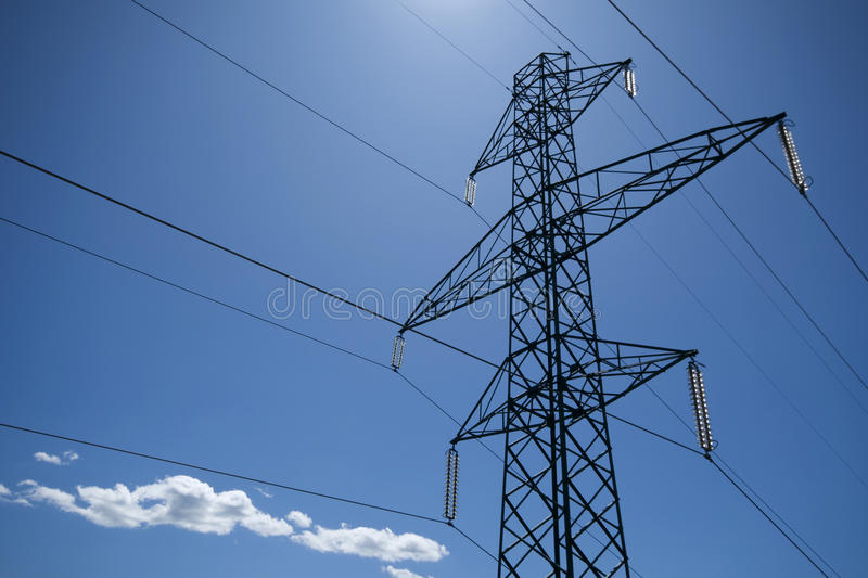 Download Power Line Stock Photo - Image: 10571960