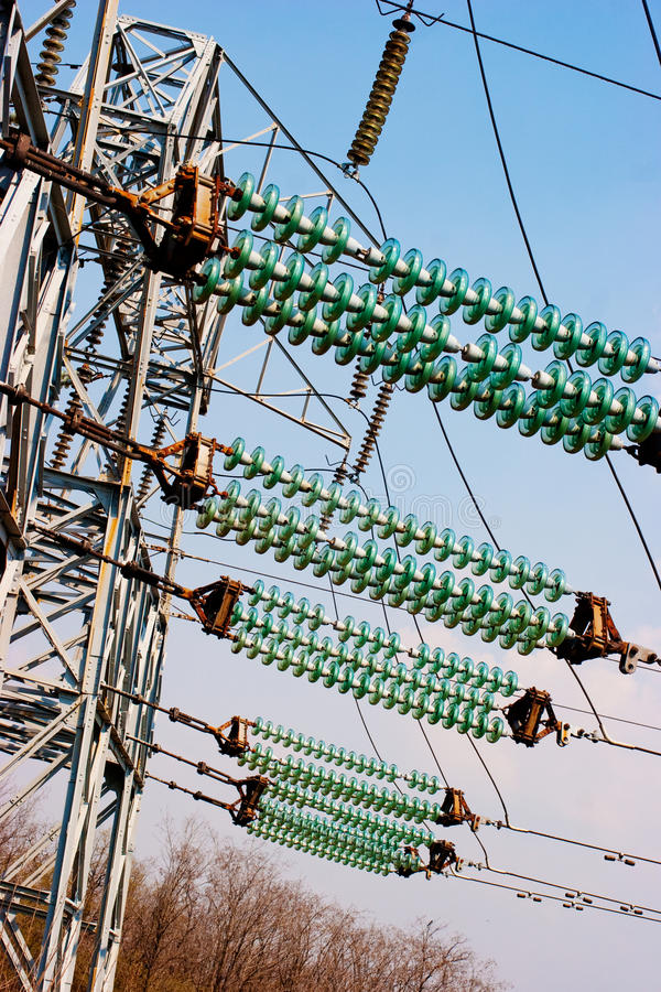 Download Power line stock photo. Image of generator, line, blue - 14856802