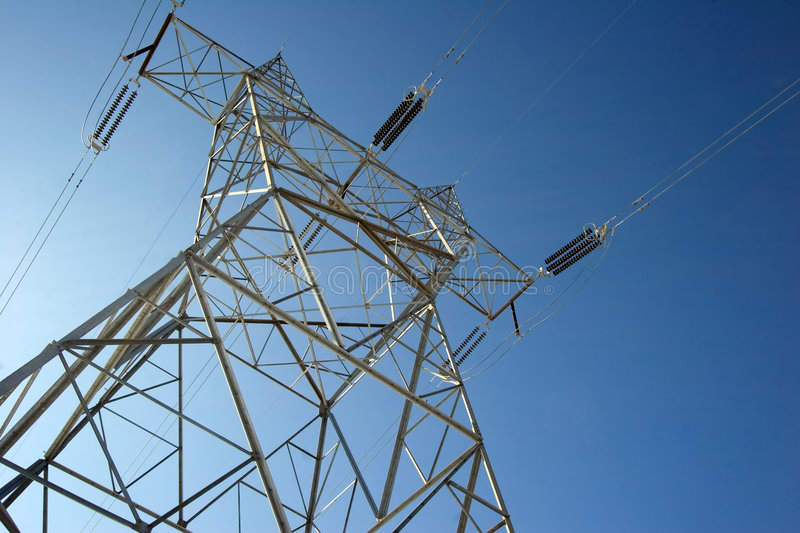 Power Line Royalty Free Stock Images