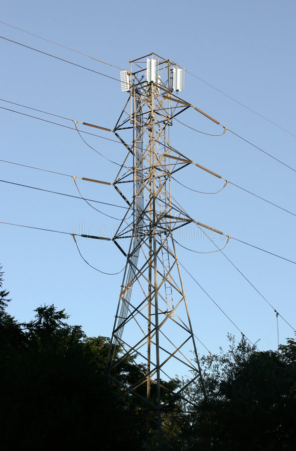 Download Power line tower stock photo. Image of supply, utility - 171984
