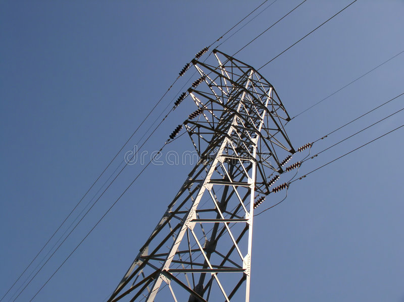 Download Power lines stock image. Image of advencement, electricity - 4117