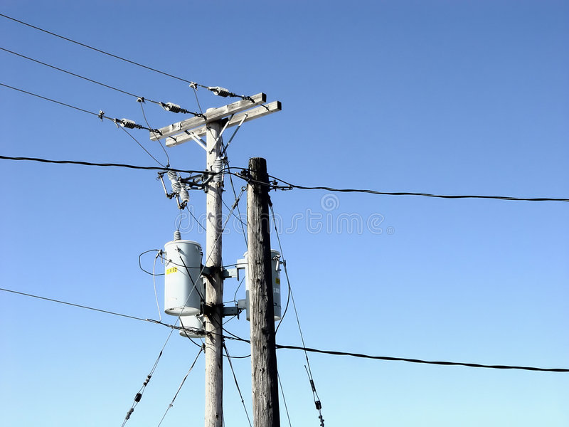 Download Power Lines stock photo. Image of blue, young, design, accessories - 4702