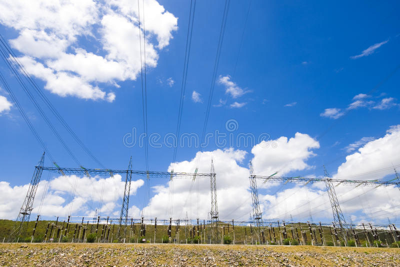 Download Power Lines stock image. Image of high, voltage, electricity - 11207013