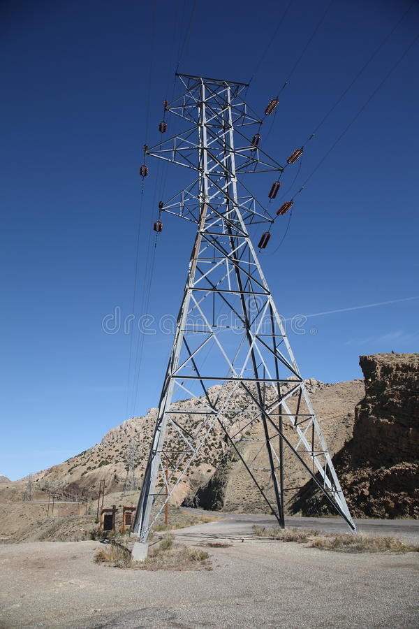 Download Power Lines stock image. Image of electricity, tension - 11376027