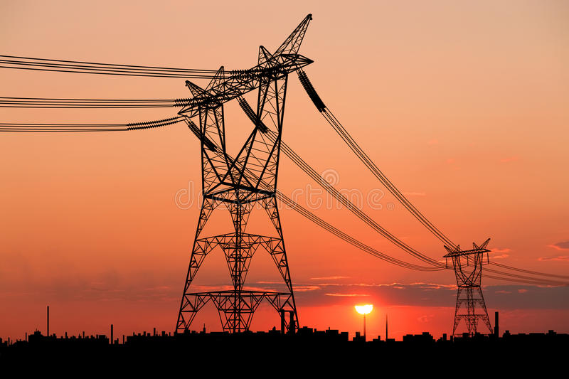Download Power Lines Royalty Free Stock Image - Image: 14338456